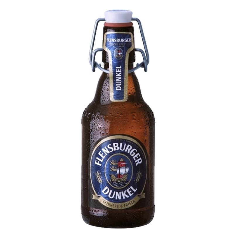Cerveza Flensburger Dunkel