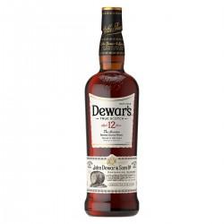 Whisky Dewars 12 años - 1/2 Botella